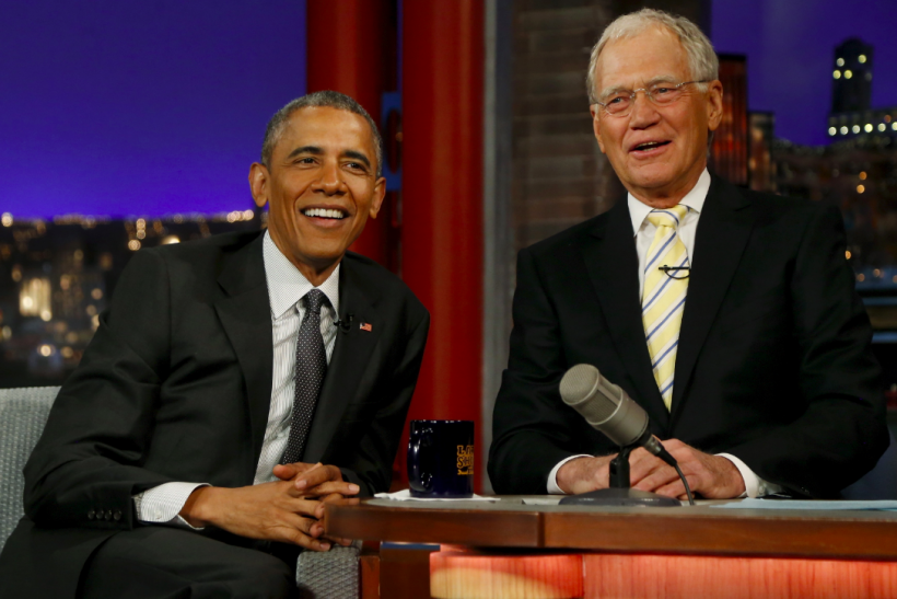 Obama's Best Jokes On David Letterman's Show
