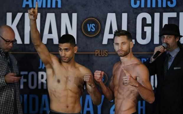 Amir Khan Chris Algieri