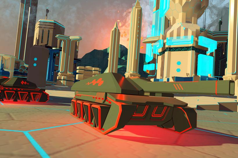 Battlezone Enemy Tanks