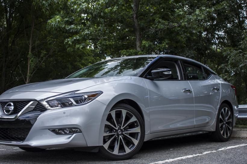 2016 Nissan Maxima front 3/4