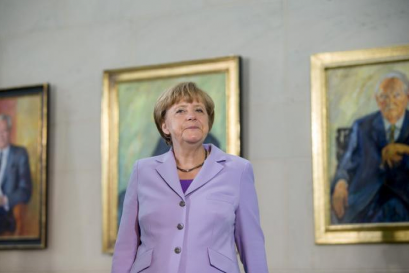 German Chancellor Angela Merkel, July 13, 2015