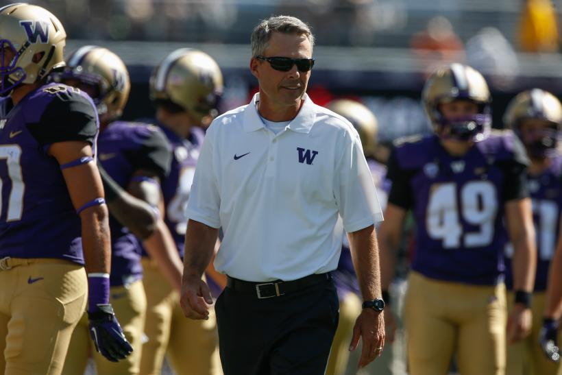 Chris Petersen Washington