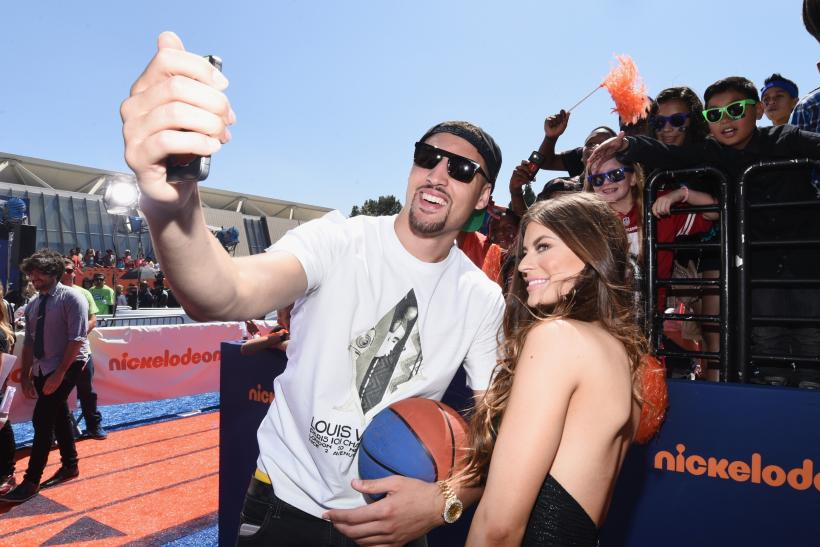Hannah Stocking Klay Thompson